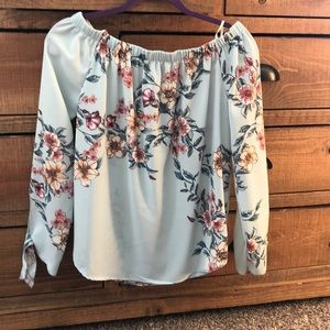 One Clothing TJ Maxx off shoulder blouse
